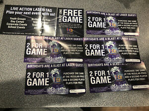 Laser tag buy one get one coupons