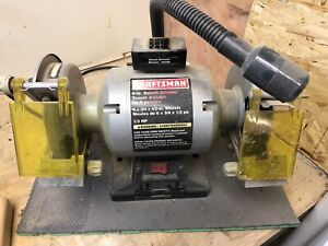 Craftsman bench top grinder