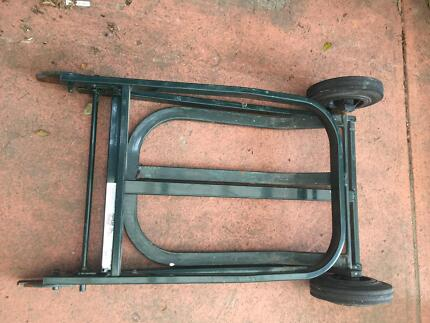 FOLDUP TROLLEY HANDTRUCK MADE IN AUSTRALIA PERFECT FOR GARDEN USE