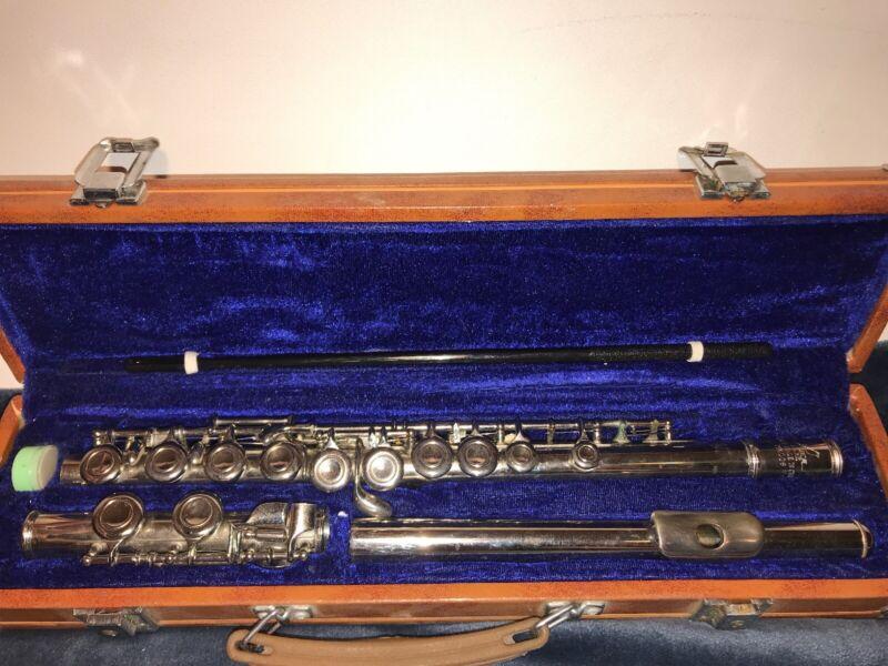 Vintage Lark Silver Plated M4006 Flute