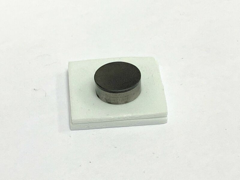 "NEW 1/2"" Round RNG43 CBN Button Insert BN6000 Grade .185 Thickness"