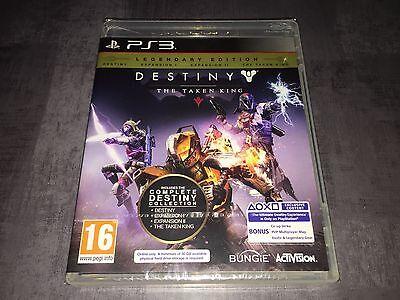PS3 : Destiny The Taken King Legendary Edition (NEUF SOUS BLISTER)