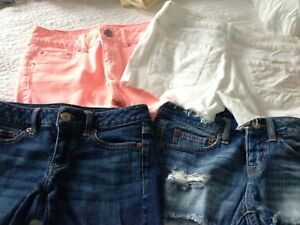 American Eagle Shorts 4 Pairs for $25.00