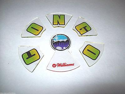 Williams CONGO Original 1995 NOS Pinball Machine Plastic Promo 6 Piece Puzzle