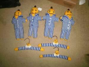 Hand knitted Bananas in pyjamas - coathangers & dolls Glen Waverley Monash Area Preview