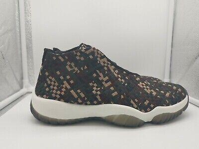 Nike Air Jordan Future Premium UK 9.5 Dark Army Green Black Sail 652141-301