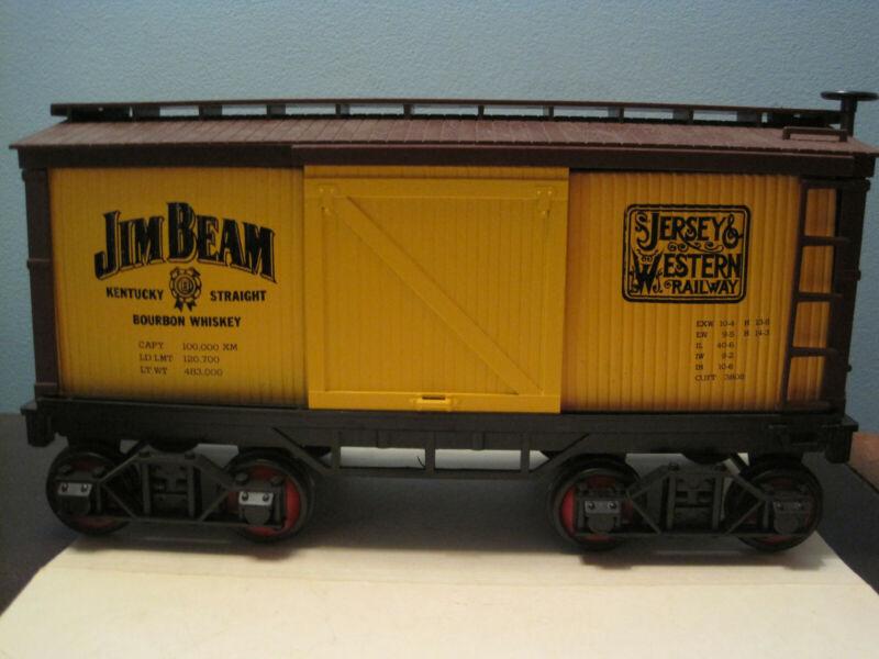 Jim Beam Train Yellow Box Car / Box / Papers