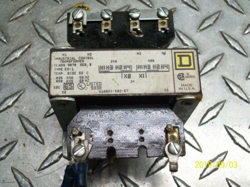 SQUARE D 9070 EO-1 TRANSFORMER