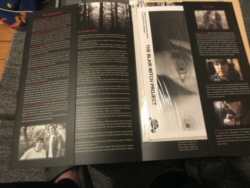 Blair Witch Project 1999 Movie Film Press Kit Horror Thriller Documentary Pathe