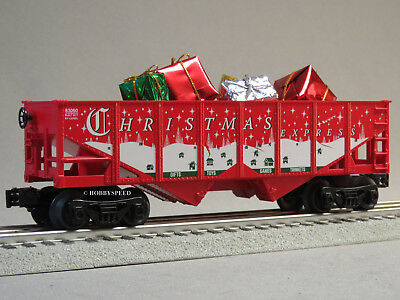 LIONEL CHRISTMAS EXPRESS HOPPER & PRESENTS O GAUGE train holiday 6-82982-H NEW