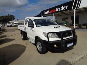 2013 TOYOTA HILUX SR 4X4 TRAY BACK ONE OWNER !! LOW LOW KMS ! Kenwick Gosnells Area Preview