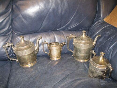 Antique REED & BARTON Tea Set 2940 Silver plated?