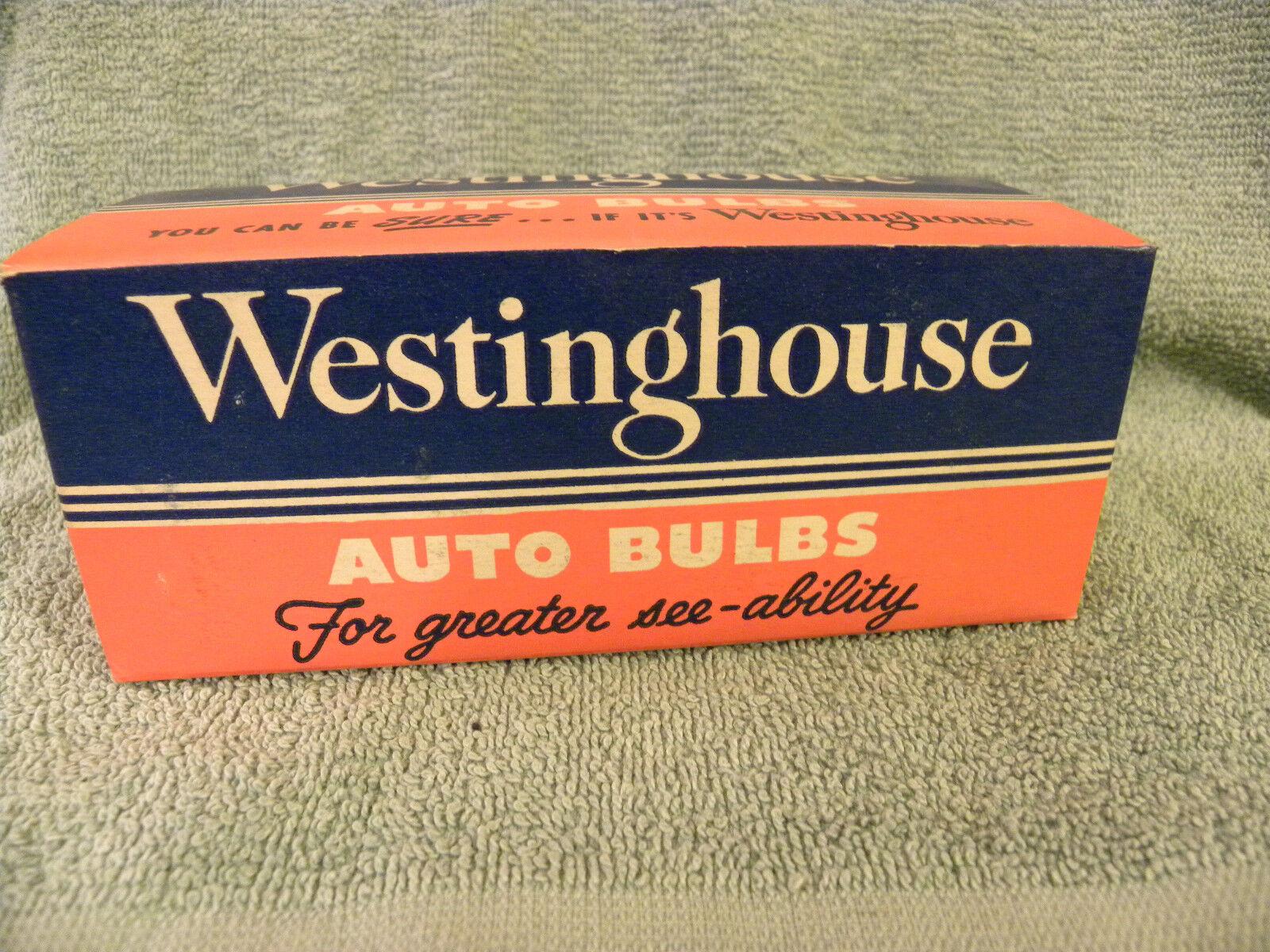 Box of 10  Vtg Westinghouse No 1141 21 CP 12V Auto Bulbs NOS - EB27