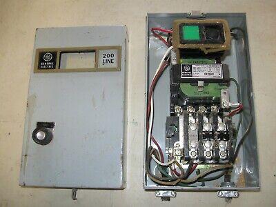 Ge Cr206a1 Motor Starter Switch