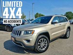 2014 Jeep Grand Cherokee Limited Leather Sunroof FREE Delivery