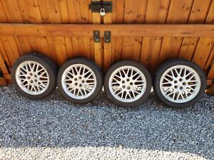 16 in rims with good tires originally off a 2002 Dodge Neon RT