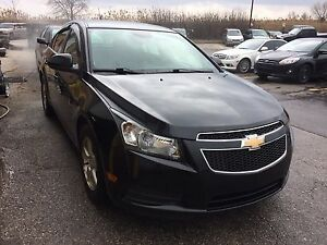 2012 chevrolet Cruze Lt+1sb with two years power train warranty