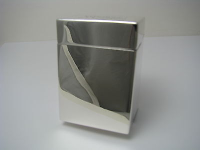STERLING SILVER CIGARETTE CASE COLLAPSIBLE BOX By Black Starr Frost Ca1900s Rare - $345.00
