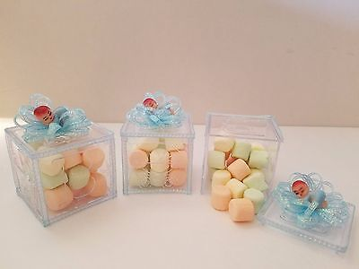 (12 Baby Shower Fillable Blocks Favors Prizes It's a Boy Game Decorations)