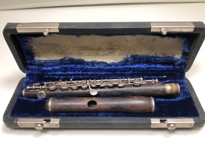AMAZING! 1913William S HaynesGrenadilla WoodConical piccolo #2445