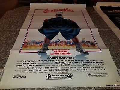 ORIGINAL MOVIE POSTER AMERICATHON 1998  1 SHEET  1979