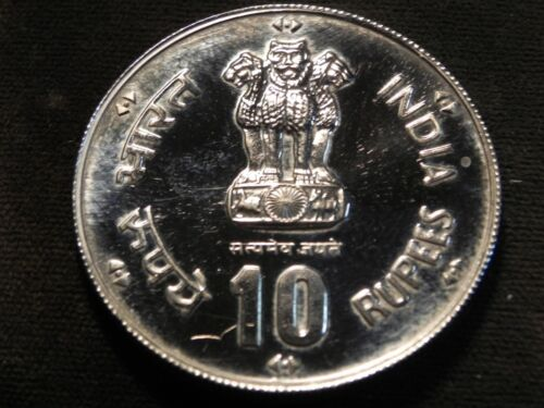 India Republic 1981 10 Rupees world food day Free  shipping