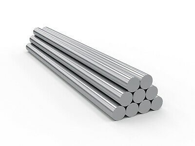 Chrome Plated Induction Hardened Hydraulic Cylinder Rod 1-38 Diameter X 20