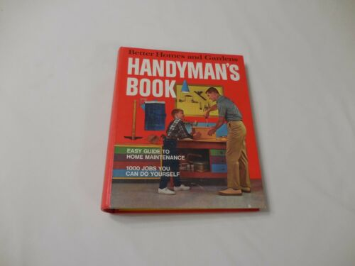 Better Homes And Gardens Handyman's Book 1970 Ring Binder Maintenance DIY Tools