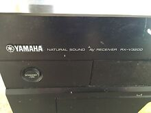Yamaha 6-Channel Home Theater Receiver RX-v3200 Summer Hill Ashfield Area Preview