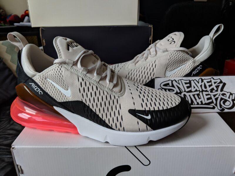 Nike Air Max 270 BlackLight Bone Hot Punch AH8050 003 For
