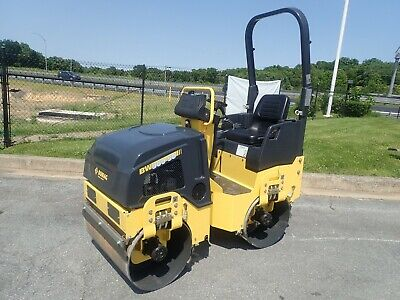 New 2019 Bomag Bw900-50 Vibratory Tandem Roller Smooth Drum 20 Hp Gas Engine