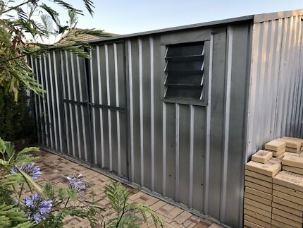 stratco garden shed