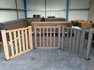 Composite Decking Balustrade Pack in Clarity Autumn 1 Linear Metre Ecoscape UK