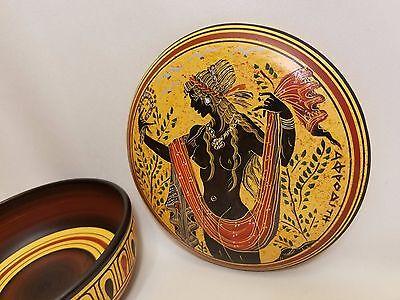 Aphrodite Selten Hellenisch Ancient Art Töpferei Schmuck Etui (Griechische Göttin Schmuck)