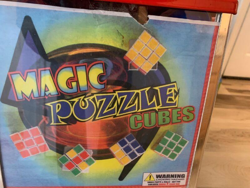 """2"""" Toy Vending Capsule Magic Puzzle Cubes 250ct"""