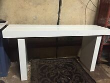 White Solid Hall Table Forrestfield Kalamunda Area Preview