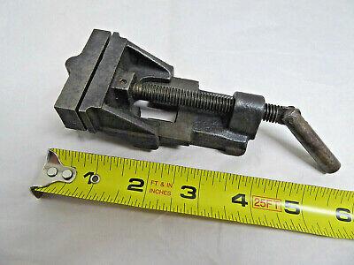 Vtg Small Mini Drill Press Vise Machinist Gunsmith Jeweler Wash Co. Danville Il