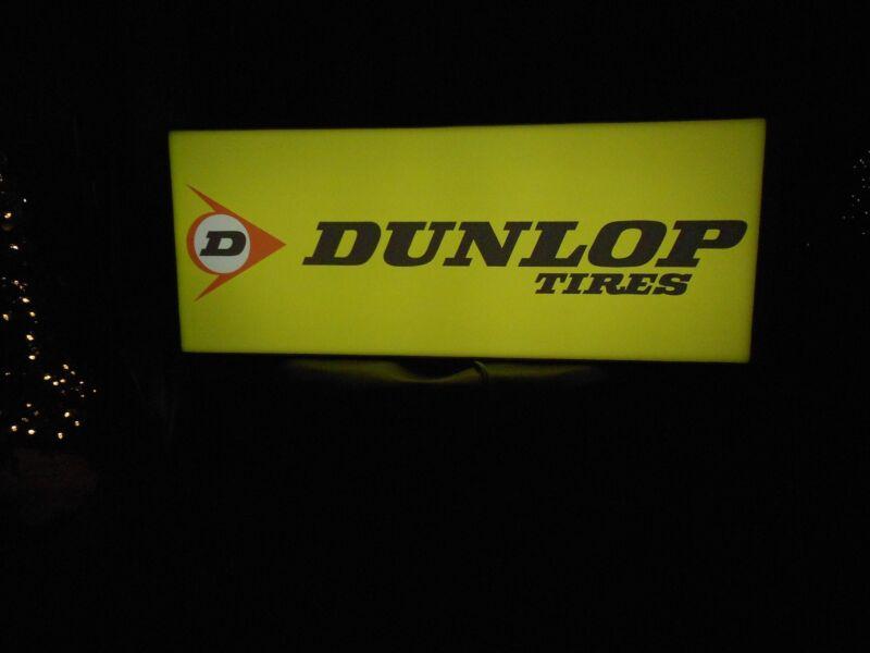 Dunlop Lighted Tire Sign