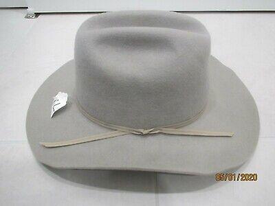 Henschel Beige 100% Wool  Cowboy Hat  XL   USA