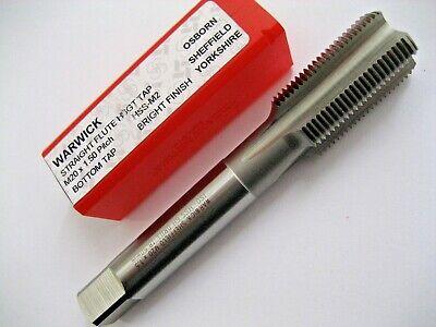 x 0.7 LH Left hand HSS Hand Tap M4 pointy tip Spiral Flutes bottom plug