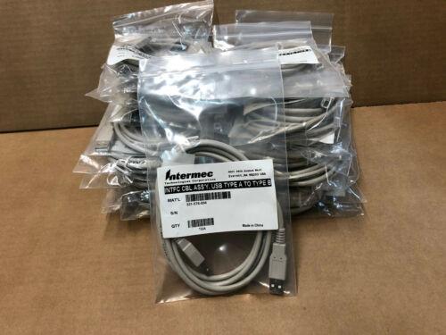 New Lot of 20  Intermec 321-576-004 USB Cable type USB-A to USB-B