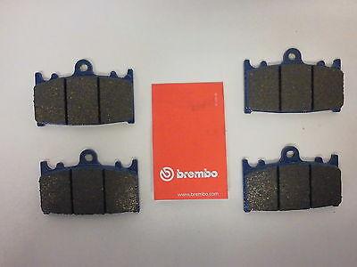 Brembo org. Bremsbeläge Bremsbacken vorne komplett Kawasaki ZZR 600, 1100, 1200