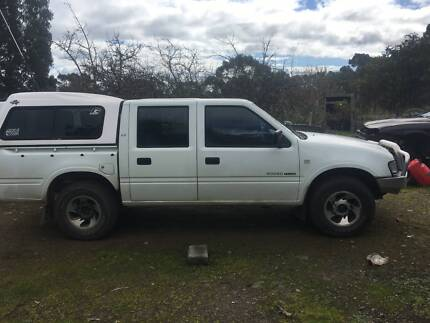 1998 Holden Rodeo duel cab