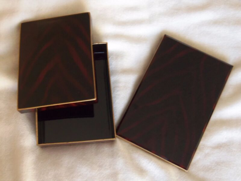 RARE Vintage OTAGIRI Brown Address Book & Note Box Set Limited Edition Japan