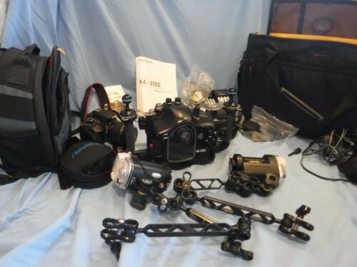 Nauticam NA 650 D Housing, Canon Camera / Complete Underwater Photography Setup