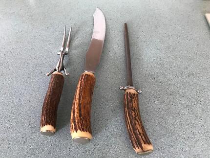 Bone handled carvery set