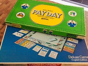 Deluxe Monopoly and Payday