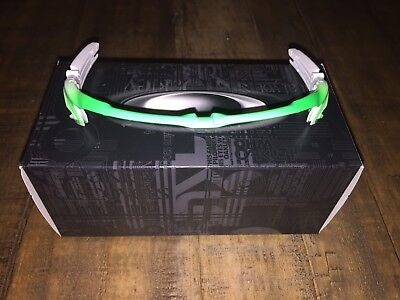 New Oakley Jawbreaker White/Fade to Green Upper Frame Only for sale  Shipping to India