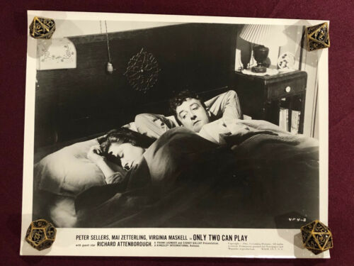 ONLY TWO CAN PLAY ORIGINAL MOVIE PHOTO STILL 1962 PETER SELLERS  PINK PANTHER 5