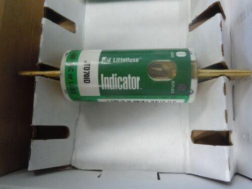 Littelfuse JTD-70-ID Time Delay Indicator Fuse 70A 600V  USED